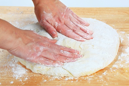 levure: Cuire la p�te � pizza rendant la levure