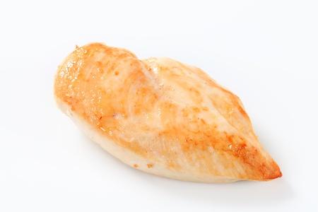 chicken breast: Studio shot of seared chicken breast Stock Photo