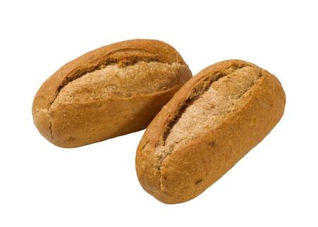 french bread rolls: Two French bread rolls