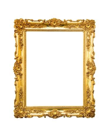 Ozdobná rámeček obrázku na bílém