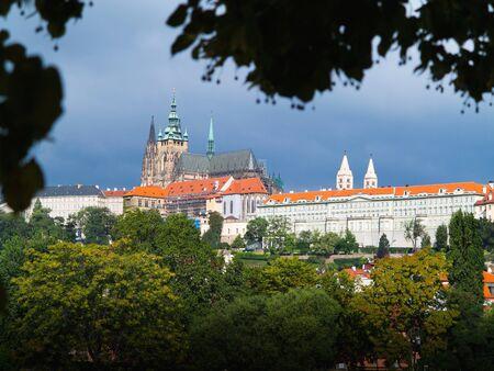 vitus: Prague Castle and St  Vitus cathedral, Czech Republic