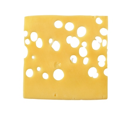 cheese slices: Thin slice of Swiss cheese