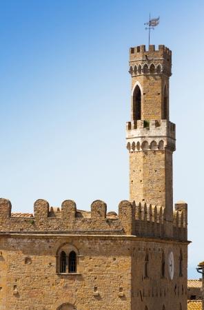priori: Palazzo dei Priori, Volterra, Toscana, Italia