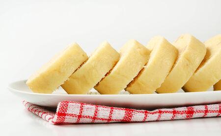 side dish: Side dish - Raised white bread dumplings
