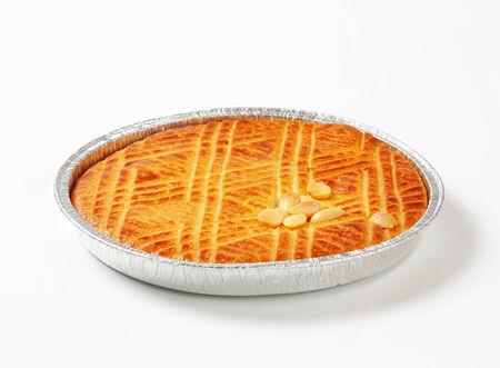 alluminum: Dutch Almond Butter Cake (Boterkoek) Stock Photo