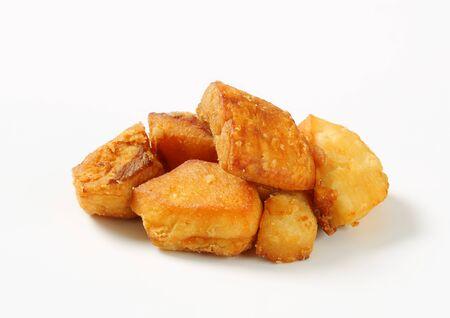 greaves: Heap of crispy pork greaves
