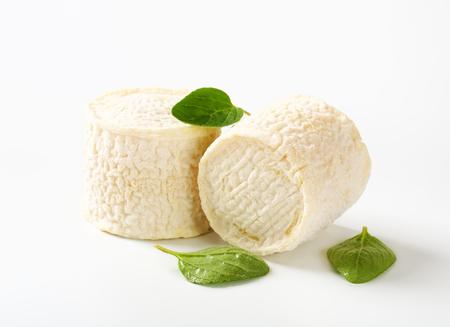 Crottins de Chevre - French goats milk cheese photo