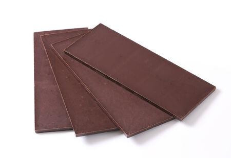semisweet: Couverture chocolate bars - studio shot