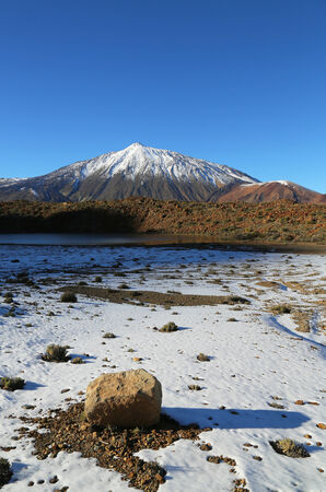 Scenic view of mount Teide, Tenerife, Canary Islands photo