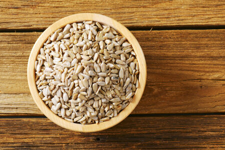 hulled: Raw hulled sunflower seed kernels
