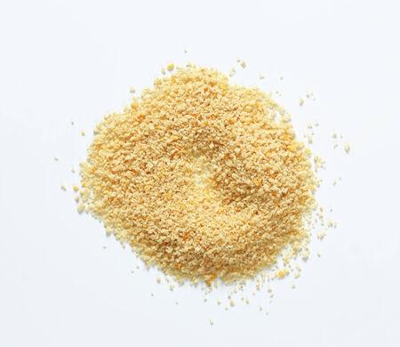 Pile of dry bread crumbs Stock Photo
