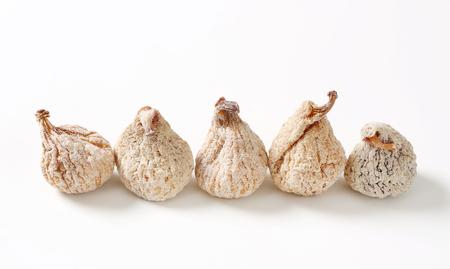 sugarcoated: Studio shot of sugar-coated dried figs