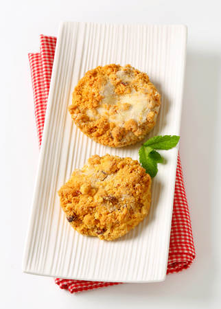 crumbly: Mini Sbrisolone - Italian crumbly cornmeal cakes with almonds