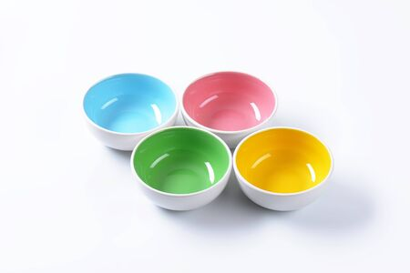 two tone: Set of two tone all purpose bowls