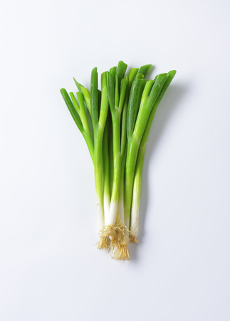 scallion: Bundle of fresh green onions