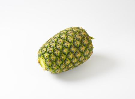 cut off: Fresh whole pineapple - leaves cut off