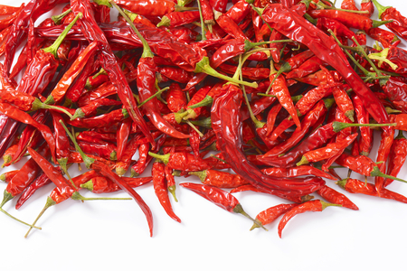 chiles secos: Mont�n de secas Red Chili Peppers