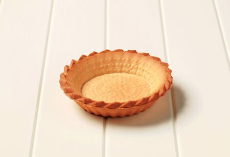 shortbread: Empty shortbread tart shell