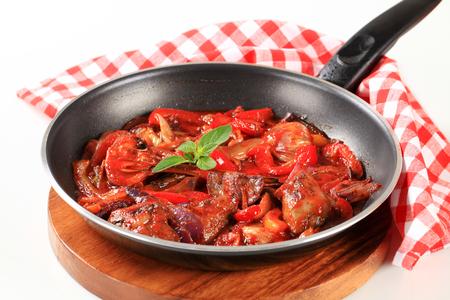 higado de pollo: Preparaci�n salteado h�gado de pollo