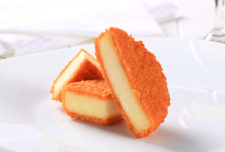 gronostaj: Pieces of deep fried cheese