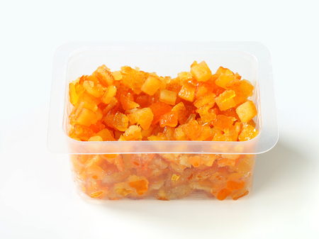 peel: Candied citrus peel