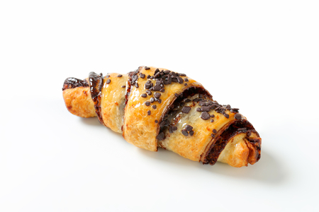 crescent: Chocolate chip crescent roll