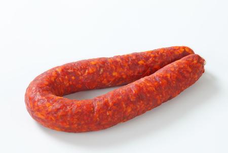 dry sausage: Spicy dry sausage