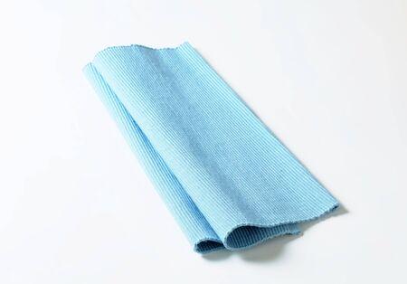 place mat: Blue cotton place mat