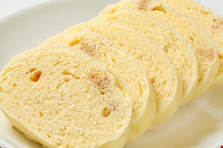 pain blanc: Side Dish - �lev� blancs boulettes de pain Banque d'images