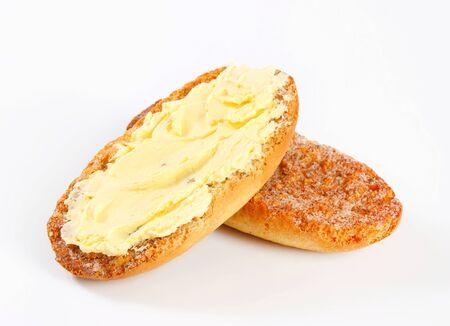 melba: Crujiente Melba tostadas con propagación