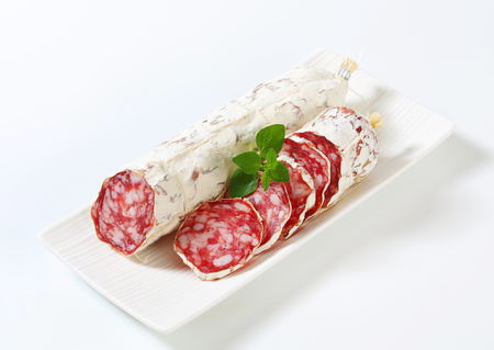 dry sausage: Saucisson Sec - French dry sausage