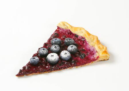 quark: French cuisine - Quark and blueberry flammkuchen