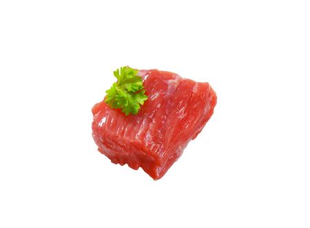 Brocken: St�ck mageres Rindfleisch - Ausschnitt