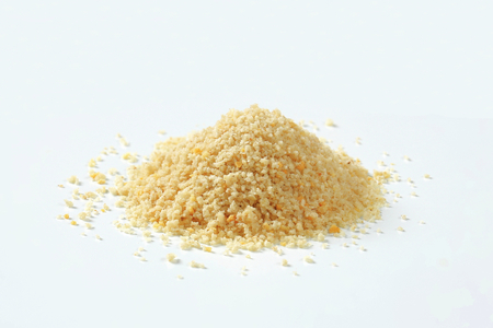 Pile of dry bread crumbs 写真素材