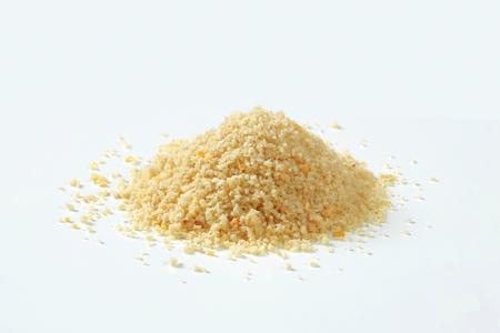Pile of dry bread crumbs Foto de archivo