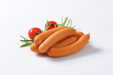Mini Vienna sausages - studio shot