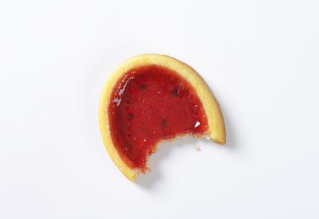 jam tarts: Mini tart with red jam filling Stock Photo
