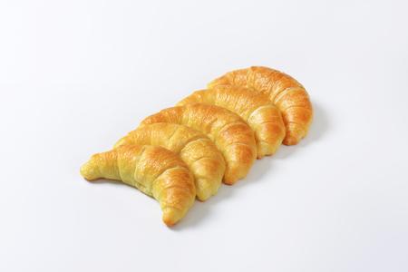 crescent: Crisp crescent rolls - studio shot