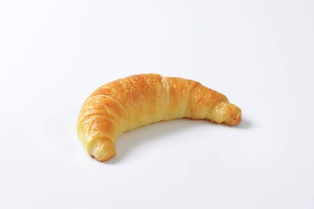 crescent: Crisp crescent roll - studio shot