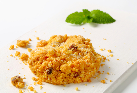 crumbly: Sbrisolone - Italian crumbly cornmeal cookies with almonds
