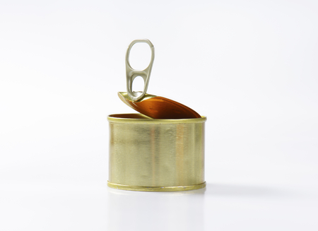 unlabelled: canned pate on white background