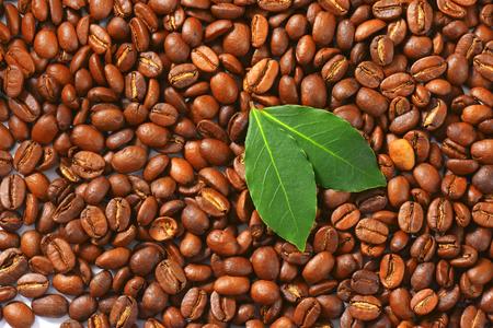 the medium: Medium roasted coffee beans background