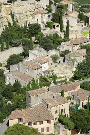 gordes: view of ancient French village of Gordes