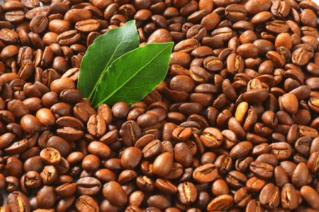 Medium roasted coffee beans background