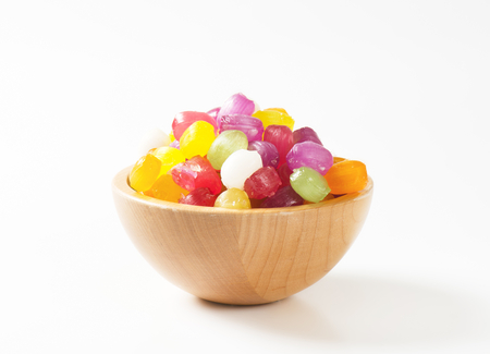 flavored: Fruit flavored hard candy drops