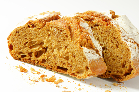 caraway: Crusty rye bread with caraway seeds