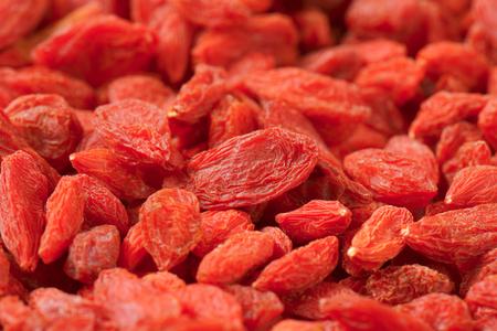 lycium: Dried goji berries - full frame