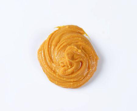 peanut butter: Swirl of peanut butter