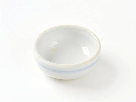 sauce dish: Mini round soy sauce dish