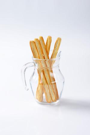 gressins: Grissini breadsticks Banque d'images